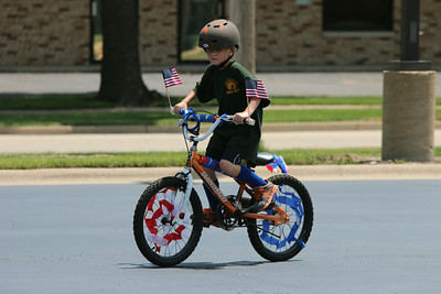 2014 Sugar Grove Fourth of July bike parade