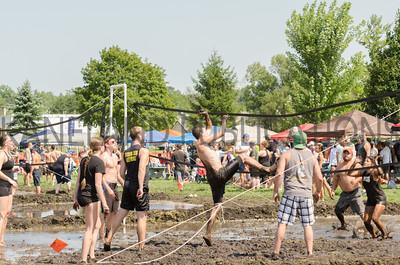 Elburn Herald Mud Volleyball